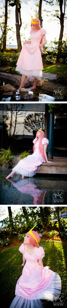 This is the best Princess Bubblegum cosplay I have ever seen! #AdventureTime