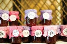 wedding favour jams - Google Search
