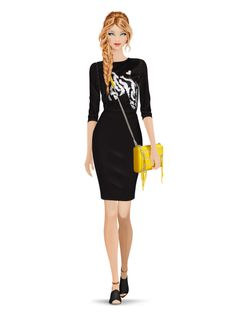 Styled with: Rebecca Minkoff, Erin Fetherston   Create your own look with Covet Fashion
