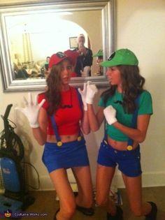 mario and luigi halloween costume contest at costume workscom