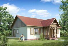 Projekt 108 DL | Projekty Domów Drewnianych