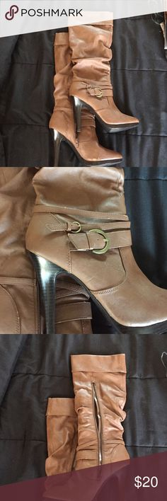 Cathy Jean heeled boots! Perfect for fall and so comfy! Cathy Jean Shoes Heeled Boots