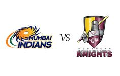 clt20 2014 teams, MI v NK clt20, mumbai indians v northern knights, mumbai indians logo, northern knights logo