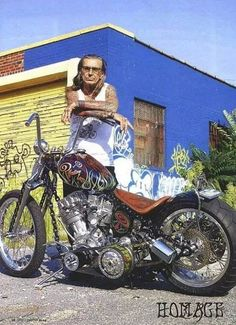 The late-great Indian Larry