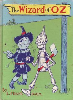 Ww denslow illustaration- Wizard of Oz