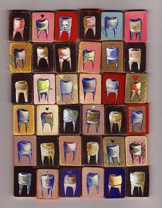 Dental Art Love this! Logo Dental, Dental Art, Dental Humor, Dental Hygienist, Dental World, Dental Life, Dental Health, Dental Posters, Dental Technician