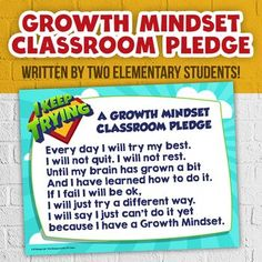 This unique and original poem in a poster format was written by my two sons and I to celebrate them learning a growth mindset and wanting to share that with younger grades. (they are aged 7 and 9) They receive all the profits to put in their college funds which they are really engaging in watching it grow!