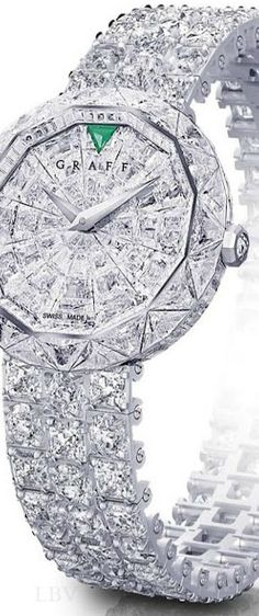 Graff Superstar Diamond Watch.What a nice Christmas gift this would be!!!! TG