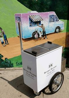 """Our new BW Ice Cream Cart will come right to you poolside with the house made push-pops & """"Rocky Rodeo"""" popsicle. Let the #summer festivities begin!"""