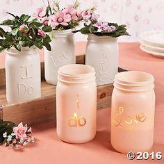 Personalized Glass Jars Idea