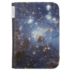 Star-Forming Region LH 95 in the Large Magellanic Kindle Cover   #space #universe #galaxy #stars #nebula #planets #spacetravel #hubble #nasa #hubbleimages #astronaut #themilkyway