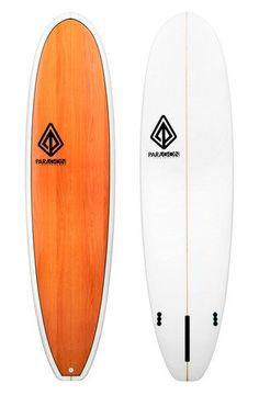 "Paragon Modern Noserider 9'0"" Wood Grain Surfboard"