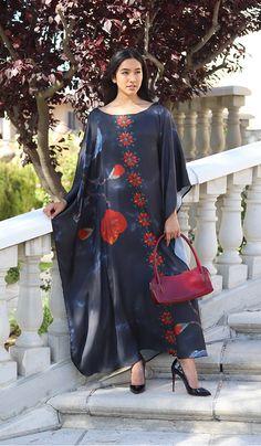 Nigar Formal Kaftan Abaya Dress-Black   Modest Kaftan Dress   Artizara – ARTIZARA.COM Modest Dresses, Formal Dresses, African Maxi Dresses, Kaftan Abaya, Muslim Dress, Abayas, Caftans, Sheer Fabrics, Woman Clothing