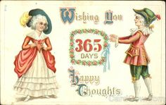 Wishing You 365 Days Happy Thoughts