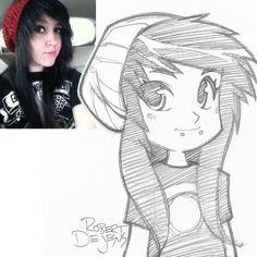 Zru Sketch by Banzchan.deviantart.com on @deviantART