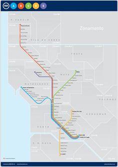 Metro de Oporto - Líneas, plano, horario y tarifas del metro