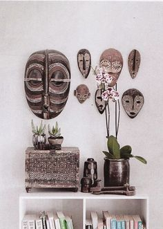 Moon to Moon: Collections: African and Asian Masks