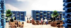 pallet pavilion building - Google Search