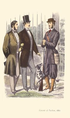 """Gazette of Fashion"" 1861 from ""Fashion and Fashion Plates 1800-1900"" (courtesy of fashion-era.com)"