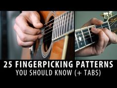 25 Fingerpicking Patterns In 5 Minutes! (+tabs) - YouTube