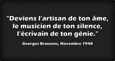 Georges Brassens, Novembre 1948