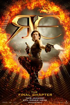Resident Evil: The Final Chapter (2017) Poster | Sony Pictures