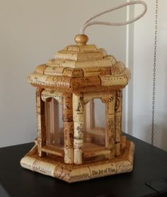Cork Bird Feeder #22