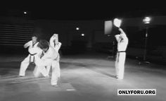Defying gravity.   martial arts and combat sports