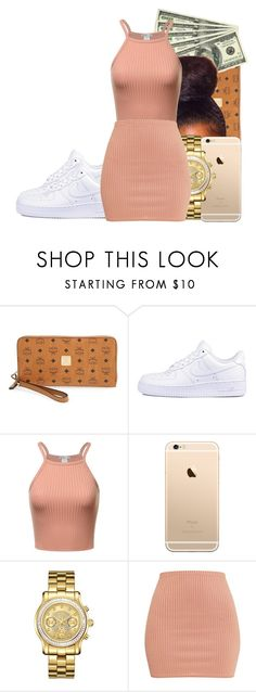 """Untitled #170"" by kenzieenationn ❤ liked on Polyvore featuring MCM, NIKE and JBW"