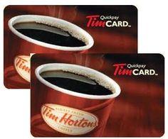 Tim Horton's Giftcard