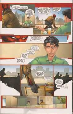 The Man With The Red Hood — Jason and Tim have a little chit chat