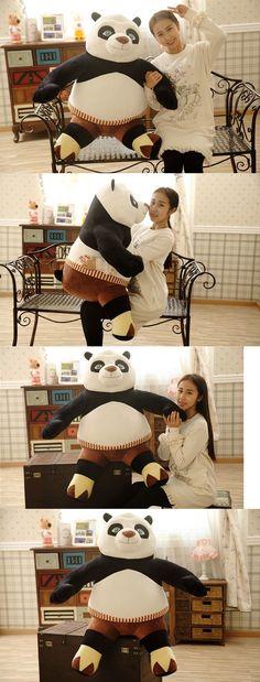 Kung Fu Panda 168212: 40 'Giant China Gongfu Panda Cute Plush Toy Stuffed Animal Doll Pillow Bolster -> BUY IT NOW ONLY: $89.09 on eBay!
