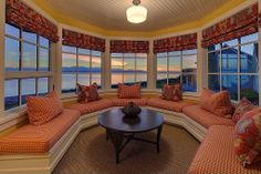 Traditional Living Room - Found on Zillow Digs. What do you think? I love this window sitting area with the bay outs.  Great view too.