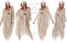 Indian Summer * Pali Dress Keffiyeh Pleat Beige @ Onlineshop lapurpura.com