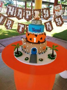 The Flintstones Birthday Party Ideas | Photo 6 of 22 | Catch My Party
