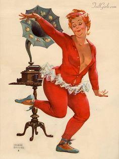 Hilda Pin Up Girl | Hilda the happy pin-up girl / Duane Bryers .