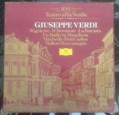 Verdi Teatro Alla Scala 200 Jahre Rigoletto, Trovatore, Traviata, Ballo Usw.Sale | eBay Ebay, Weather, Movies, Movie Posters, Theater, Shopping, Films, Film Poster, Cinema