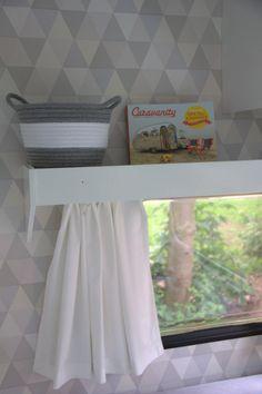 Behang op de muur! Geplakt met perfax behangrandenlijm...