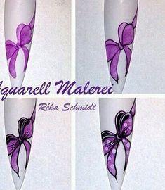 •••НАРАЩИВАНИЕ НОГТЕЙ•СЕКРЕТЫ ДИЗАЙНА•••'s photos – 7 albums | VK Bow Nail Art, Nail Art Diy, Diy Nails, Manicure, Schmidt, Picture Logo, Nail Tutorials, Love Nails, Art Lessons