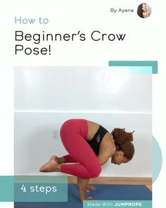 "yoga for the non flexible on instagram ""working on crow"