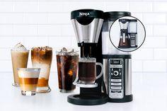 Ninja Coffee Bar Filter Brewer Machine with Glass Carafe (Certified Refurbished) Ninja Coffee Bar Recipes, Ninja Coffee Maker, Drip Coffee Maker, Coffee Brewer, Iced Coffee, Coffee Drinks, Coffee Cups, Coffee Love, Best Coffee