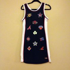 Vintage 5 Basketball Jersey Dress M/L by NativeLilacVintage