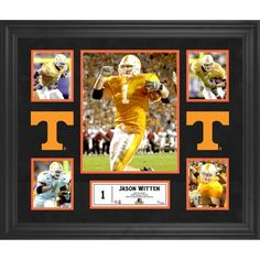 Jason Witten Tennessee Volunteers Fanatics Authentic Framed 5-Photograph Collage