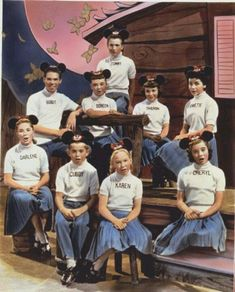 Original Mickey Mouse Club - watched it before dinner every weekday!