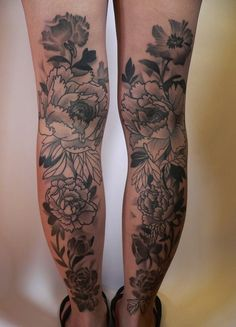 Gorgeous floral work - 10 Most Painful Places to Get Tattooed
