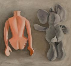 Part of being - Oil on Canvas - 120x110 cm - 2012