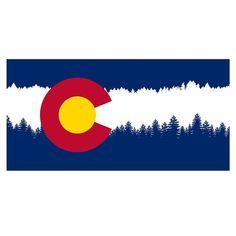 New Colorado Flag by Angel Pearson via Behance  Beautiful