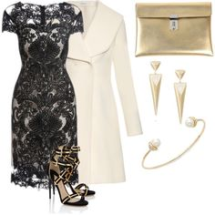 golden pearl by shoesclothesbagsaddict on Polyvore featuring J.W. Anderson, Paul Andrew, Golden Goose and Sequin