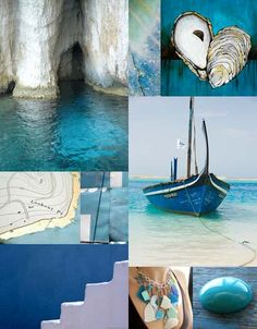 Pantone leading colour experts proclaim Turquoise as the colour for The Turquoise stone above is the symbol of wisdom and spiritual. Colour Schemes, Color Trends, Mood Colors, Colours, Painting Inspiration, Color Inspiration, Love Blue, Blue And White, Photo Tiles