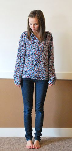 Merrick's Art // Style + Sewing for the Everyday Girl: Oversized Button Up Refashion (Tutorial)
